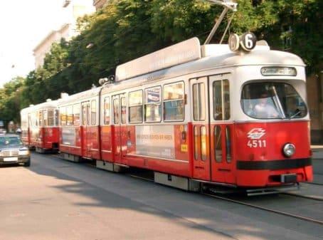 Sightseeing in Wien - Die Straßenbahnen in Wien