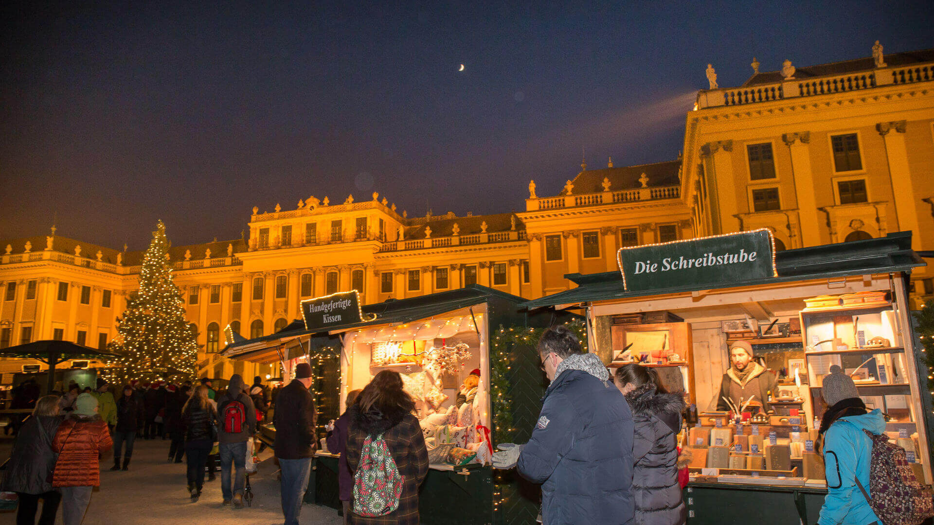 Weihnachtsmarkt Schönbrunn, Foto: Nik Pichler
