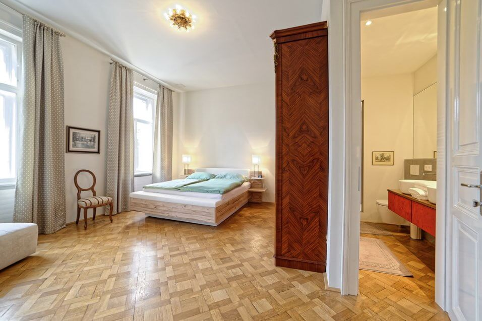 Apartment Maria Theresia Schlafzimmer