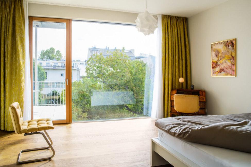 Falco Schlafzimmer Ausblick