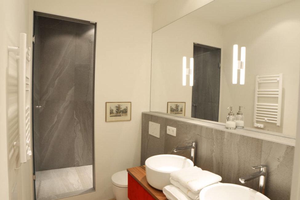 Apartment Maria Theresia Badezimmer