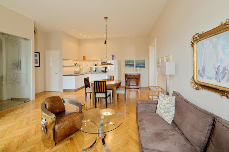 Apartment Sissi Wohnküche