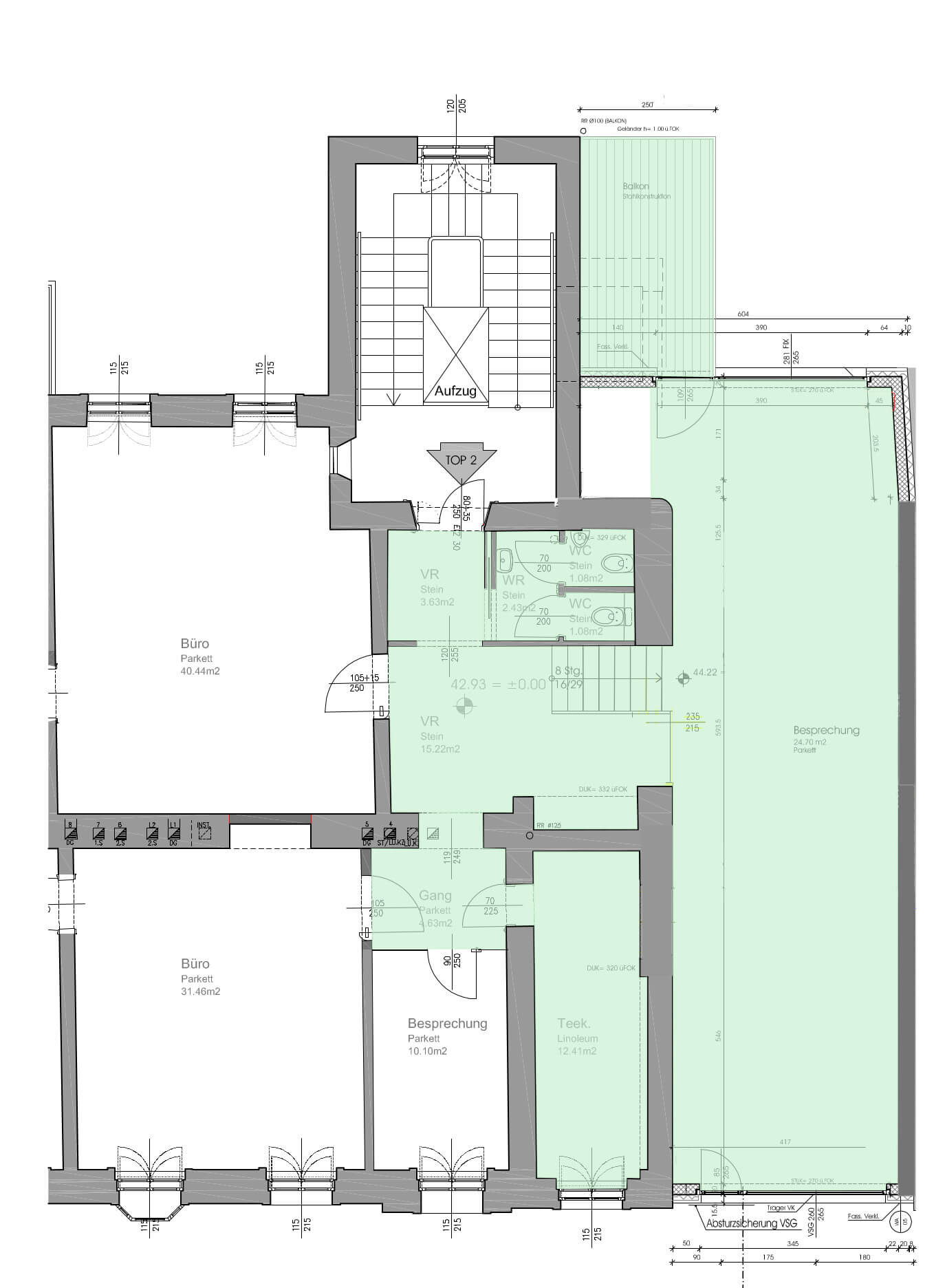 Schönbrunn Living Konferenzraum Plan